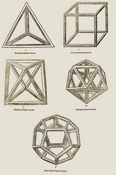 Les 5 corps platoniciens