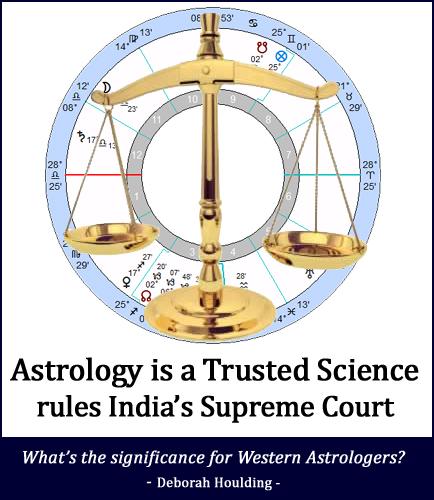 La reconnaissance de l'astrologie par la Cour Suprême de l'Inde
