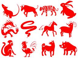 Les douze signes (animaux) de l'astrologie chinoise